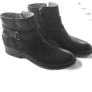 Franco Sarto boots, 9, black